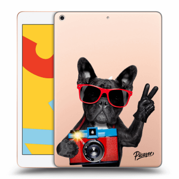 Hülle für Apple iPad 2019 (7. gen) - French Bulldog