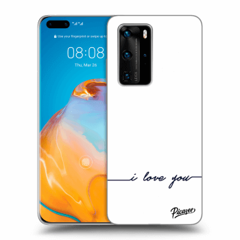 Hülle für Huawei P40 Pro - I love you