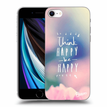 Hülle für Apple iPhone SE 2020 - Think happy be happy