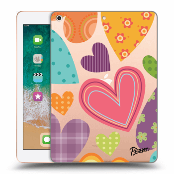 Hülle für Apple iPad 2018 (6. gen) - Colored heart