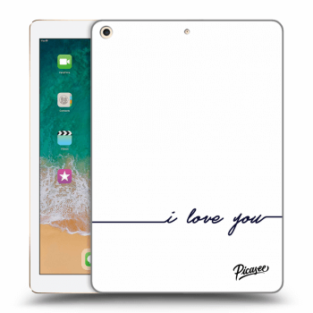 Hülle für Apple iPad 2017 (5. gen) - I love you