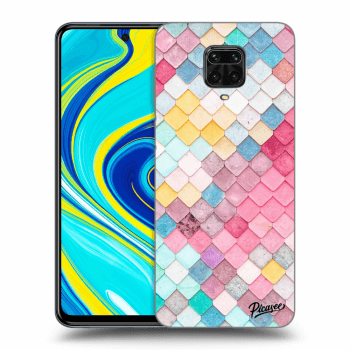 Hülle für Xiaomi Redmi Note 9 Pro - Colorful roof