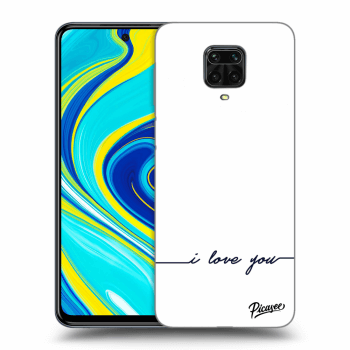 Hülle für Xiaomi Redmi Note 9 Pro - I love you