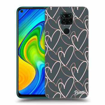 Hülle für Xiaomi Redmi Note 9 - Lots of love