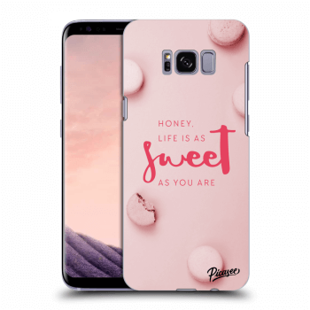 Hülle für Samsung Galaxy S8 G950F - Life is as sweet as you are
