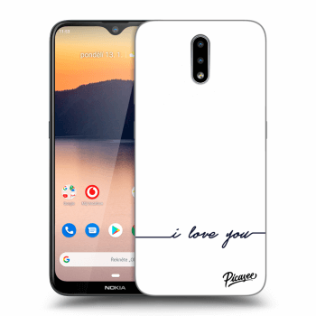 Hülle für Nokia 2.3 - I love you