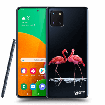 Hülle für Samsung Galaxy Note10 Lite N770F - Flamingos couple