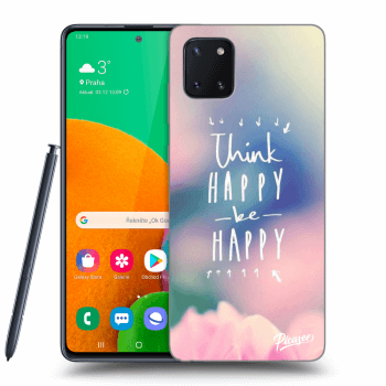 Hülle für Samsung Galaxy Note10 Lite N770F - Think happy be happy