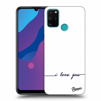 Hülle für Honor 9A - I love you