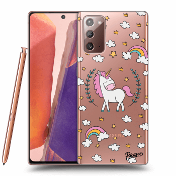 Hülle für Samsung Galaxy Note20 - Unicorn star heaven