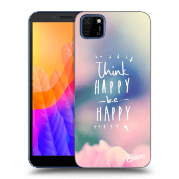 Hülle für Huawei Y5P - Think happy be happy
