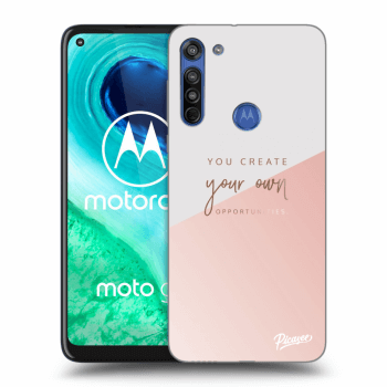 Hülle für Motorola Moto G8 - You create your own opportunities