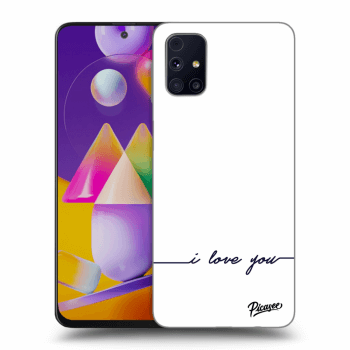 Hülle für Samsung Galaxy M31s - I love you