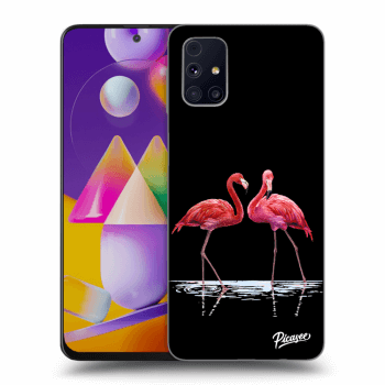 Hülle für Samsung Galaxy M31s - Flamingos couple