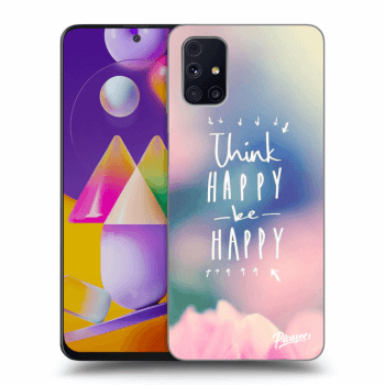 Hülle für Samsung Galaxy M31s - Think happy be happy