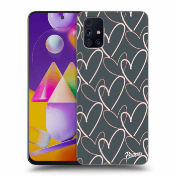 Hülle für Samsung Galaxy M31s - Lots of love