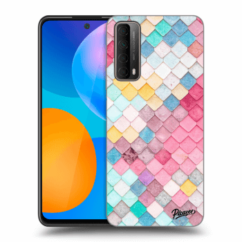 Hülle für Huawei P Smart 2021 - Colorful roof