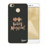 Picasee Xiaomi Redmi 4X Global Hülle - Transparenter Kunststoff - Make today Magical