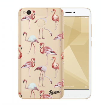 Hülle für Xiaomi Redmi 4X Global - Flamingos