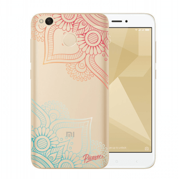 Hülle für Xiaomi Redmi 4X Global - Flowers pattern