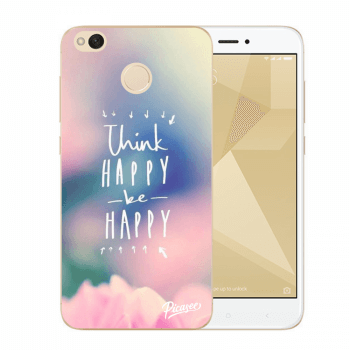 Hülle für Xiaomi Redmi 4X Global - Think happy be happy