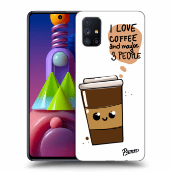Hülle für Samsung Galaxy M51 M515F - Cute coffee