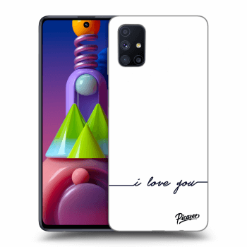 Hülle für Samsung Galaxy M51 M515F - I love you