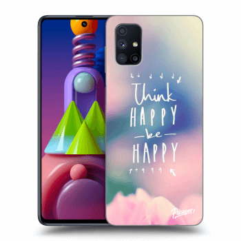 Hülle für Samsung Galaxy M51 M515F - Think happy be happy