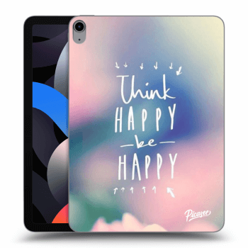 Hülle für Apple iPad Air 4 (2020) - Think happy be happy