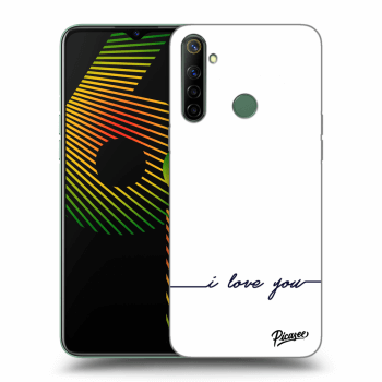 Hülle für Realme 6i - I love you