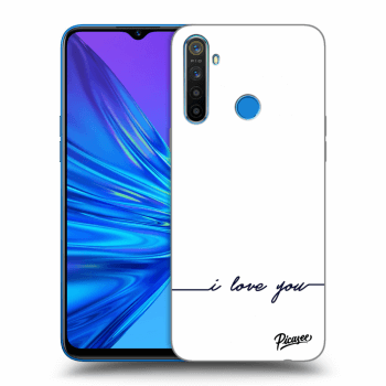 Hülle für Realme 5 - I love you