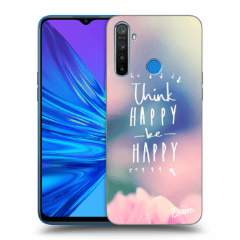 Hülle für Realme 5 - Think happy be happy