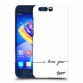 Hülle für Honor 9 - I love you