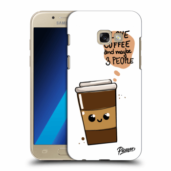 Hülle für Samsung Galaxy A3 2017 A320F - Cute coffee