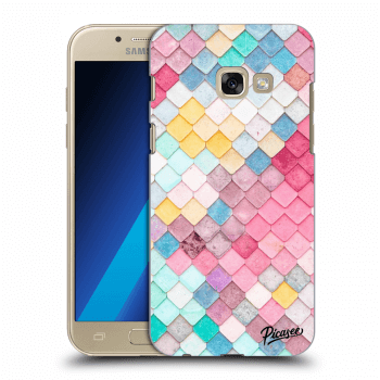 Hülle für Samsung Galaxy A3 2017 A320F - Colorful roof