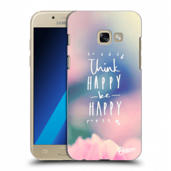 Hülle für Samsung Galaxy A3 2017 A320F - Think happy be happy
