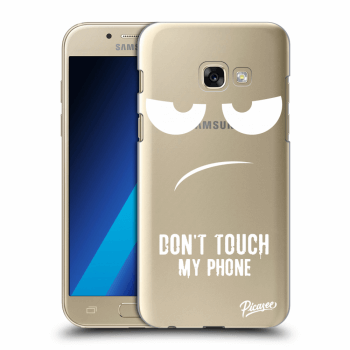 Hülle für Samsung Galaxy A3 2017 A320F - Don't Touch My Phone