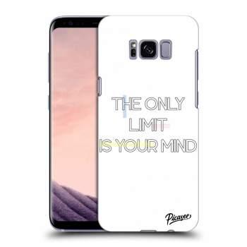 Hülle für Samsung Galaxy S8+ G955F - The only limit is your mind
