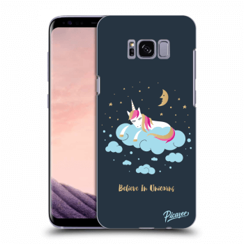 Hülle für Samsung Galaxy S8+ G955F - Believe In Unicorns