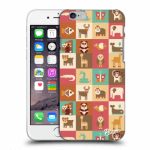 Picasee Apple iPhone 6/6S Hülle - Transparentes Silikon - Animals
