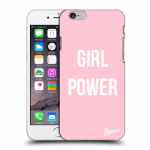 Picasee Apple iPhone 6/6S Hülle - Transparentes Silikon - Girl power