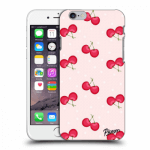 Picasee Apple iPhone 6/6S Hülle - Transparentes Silikon - Cherries