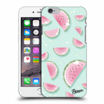 Picasee Apple iPhone 6/6S Hülle - Transparentes Silikon - Watermelon 2