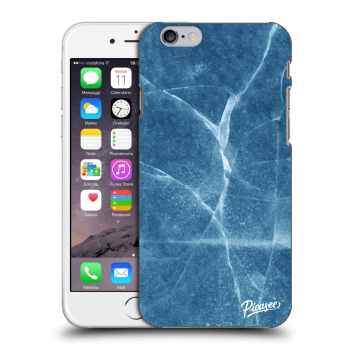 Picasee Apple iPhone 6/6S Hülle - Transparentes Silikon - Blue marble