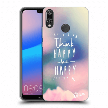 Hülle für Huawei P20 Lite - Think happy be happy