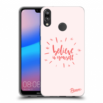 Hülle für Huawei P20 Lite - Believe in yourself