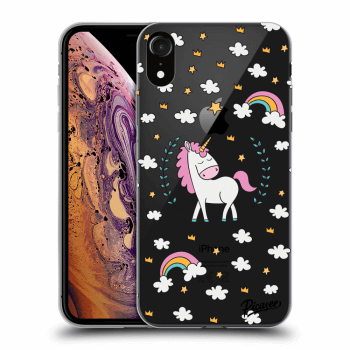 Hülle für Apple iPhone XR - Unicorn star heaven