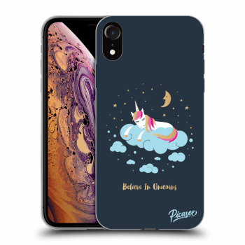Hülle für Apple iPhone XR - Believe In Unicorns