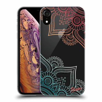 Hülle für Apple iPhone XR - Flowers pattern