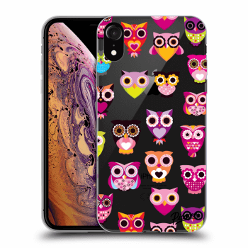 Hülle für Apple iPhone XR - Owls